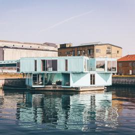 Casas de estructura de acero y casa container