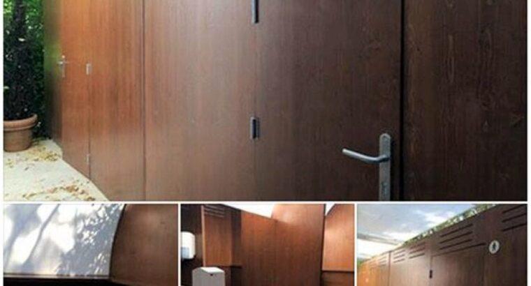 Sanitarios portatiles en madera