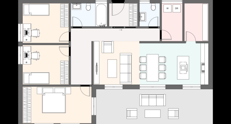 Casa sostenible, ecologica, moderna , A, económica